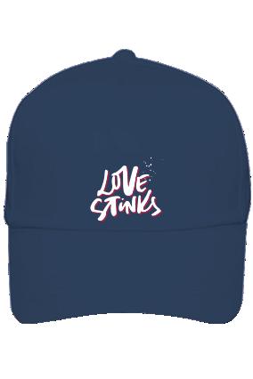 Love Stinks Customised Cotton Blue Cap