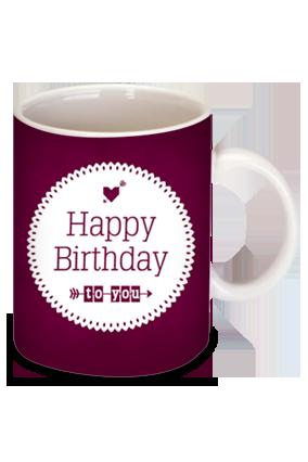 Birthday Wishes Coffee Mug