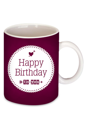 Birthday Wishes Bone China Mug