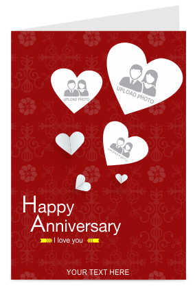 Greeting cards buy personalized greeting cards online in india happy anniversary greeting card m4hsunfo