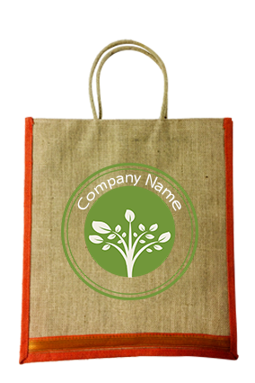 Promotional Circle Jute Bottle Bag 04
