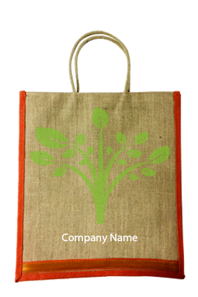 Promotional Tree Jute Bottle Bag 04