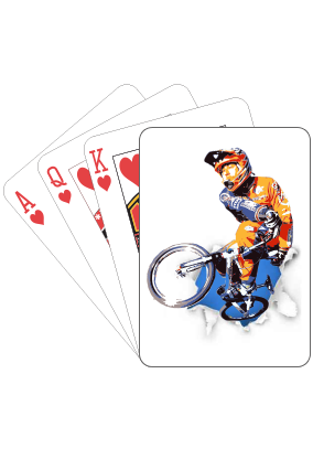 The Rider Playing Card