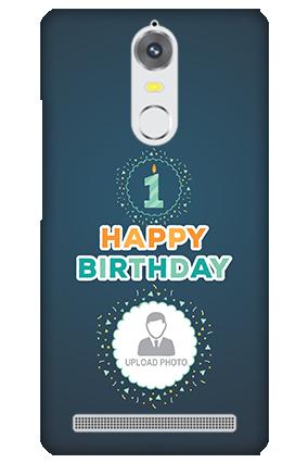 Lenovo K5 Birthday Wishes Mobile Cover