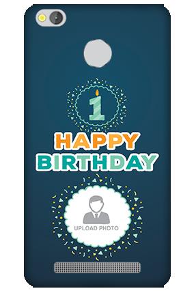 Xiaomi Redmi 3S Prime Birthday Wishes Mobile Cover