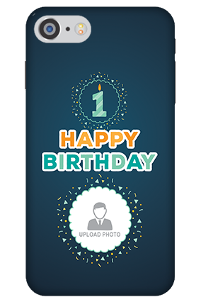 3D IPhone 7 Birthday Wishes Mobile Cover
