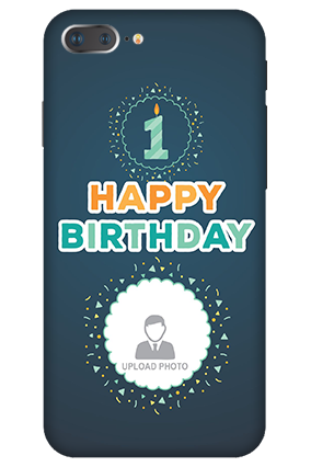 3D IPhone 7 Plus  Birthday Wishes Mobile Cover