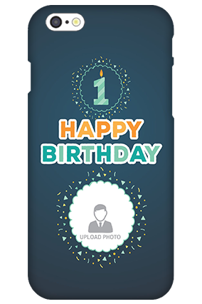 Personalised 3D-IPhone 6s Birthday Wishes Mobile Cover