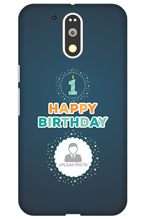 Premium 3D-Motorola Moto G4 Plus Birthday Wishes Mobile Cover