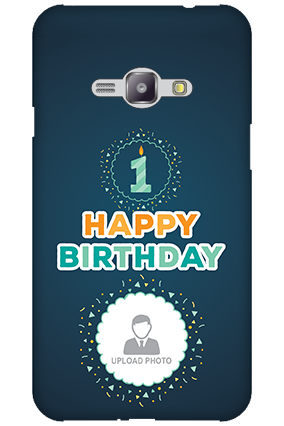 Silicon - Samsung Galaxy J1 Ace Birthday Wishes Mobile Cover