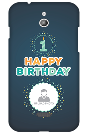 Silicon - InFocus M2 Birthday Wishes Mobile Cover