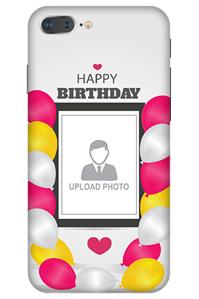 3D IPhone 7 Plus  Birthday Greetings Mobile Cover