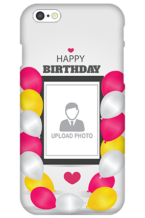 Custom 3D-IPhone 6 Birthday Greetings Mobile Cover