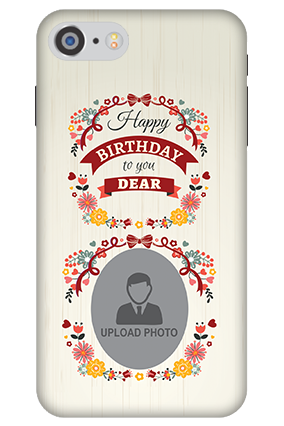 3D IPhone 7 Happy Birthday Dear Mobile Cover