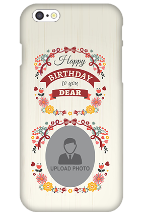 3D IPhone 6s  Happy Birthday Dear Mobile Cover