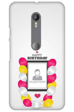 Amazing 3D-Motorola Moto G3 Birthday Greetings Mobile Cover