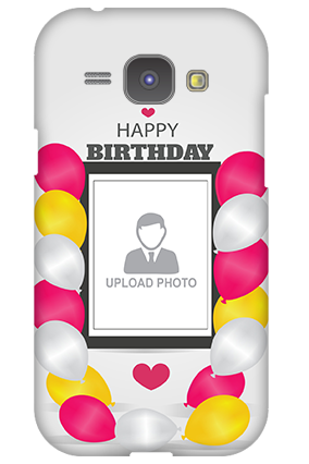 Samsung Galaxy J1 Birthday Greetings Mobile Cover