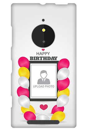 Nokia Lumia 830 Birthday Greetings Mobile Cover
