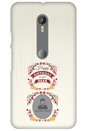 3D Motorola Moto G3 Happy Birthday Dear Mobile Cover