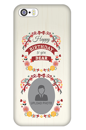 iPhone 5 Happy Birthday Dear Mobile Cover