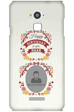 Premium Silicon - Coolpad Note 3 Happy Birthday Dear Mobile Cover