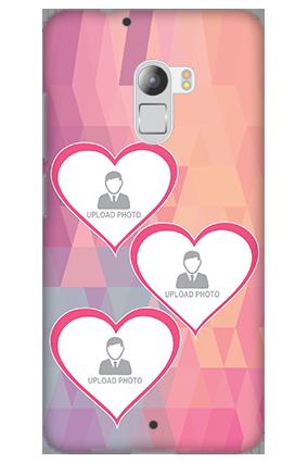 Silicon - Lenovo K4 Note Pinkish Heart Mobile Cover