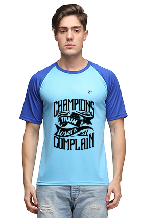 Effit Champions Turquoise and Royal T-Shirt