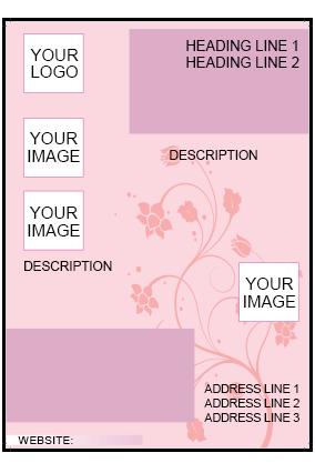 Pink Color Flyer