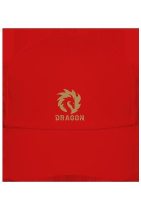 Dragon Cotton Red Cap
