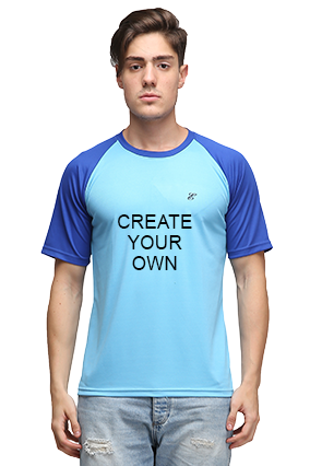 Effit Create Your Own Turquoise and Royal T-Shirt