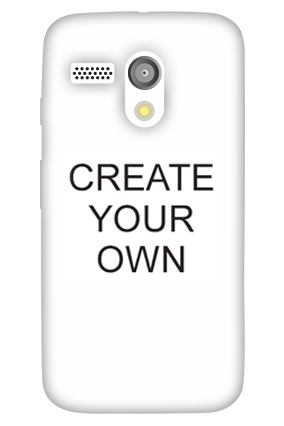 Personalised Create Your Own Moto G Mobile Cover