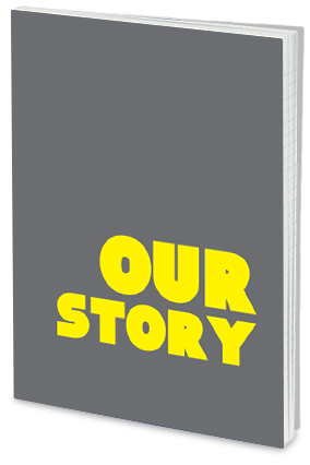 Amazing Effit Our Story Personalized Notebook