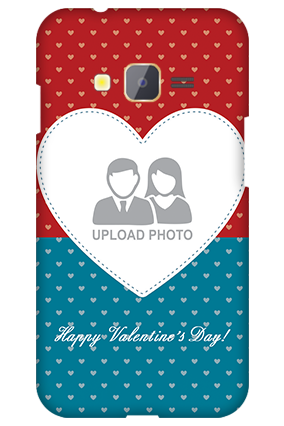 Samsung Z1 Colorful Heart Valentine's Day Mobile Cover