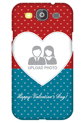 Custom Samsung Galaxy S3 Neo Colorful Heart Valentine's Day Mobile Cover