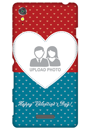 Sony Xperia T3 Colorful Heart Valentine's Day Mobile Cover