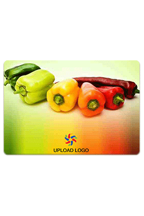 Promotional Assorted Bell Peppers Table Mat