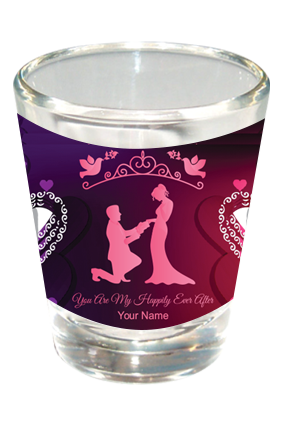 Proposal Shot Glass