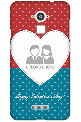 Custom Silicon - Coolpad Note 3 Colorful Heart Valentine's Day Mobile Cover
