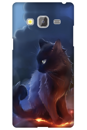 Samsung Galaxy Z3 Cat Mobile Cover