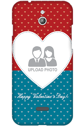 Silicon - InFocus M2 Colorful Heart Valentine's Day Mobile Cover