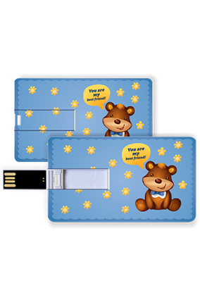 Cute Credit Card Pen Drive
