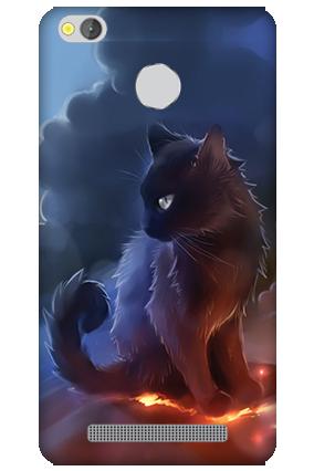 Xiaomi Redmi 3S Prime Cat Mobile Cover