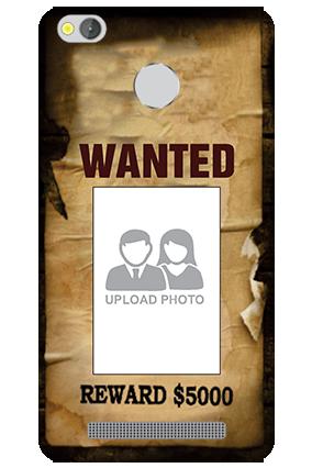 Wanted Xiaomi Redmi 3S Prime Mobile Cover