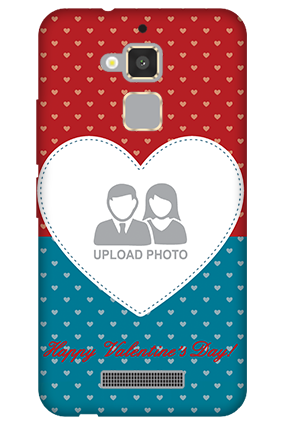 Asus Zenfone 3 Max Colorful Heart Valentine's Day Mobile Cover