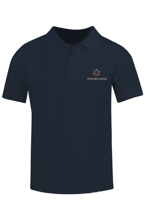 Embroidery Navy Polo T-Shirt