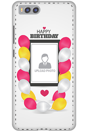 3D - Xiaomi Mi6 Birthday Greetings Mobile Cover