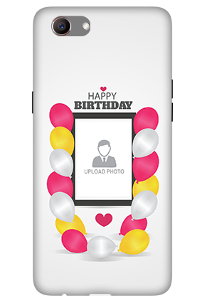 3D -Oppo Realme 1 Birthday Greetings Mobile Cover