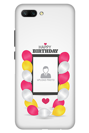3D - Huawei Honor 10 Birthday Greetings Mobile Cover
