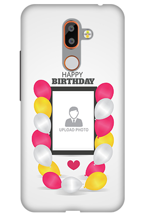 Personalized 3D-Nokia 7 Plus Birthday Greetings Mobile Cover