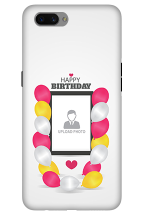 3D-Oppo A3s Birthday Greetings Mobile Cover